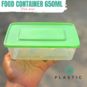 650ml Food Container (per pack-100pcs)