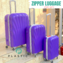 Zipper Travel Luggage (per set-3pcs)