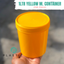 1LTR Yellow M. Container (per piece)