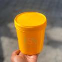 1LTR Supreme Yellow Container (per dozen)
