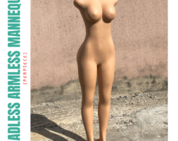 Armless Female Mannequin (per piece)