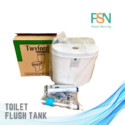 Twyford Toilet tank (per piece)