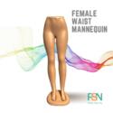 Female Waist Mannequin (per piece)