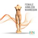Armless Female Mannequin (per piece)
