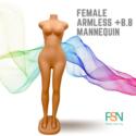 Female Curvy mannequin (per piece)
