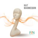 Hat Mannequin (per piece)