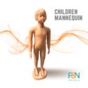 Children Full mannequin (per piece )