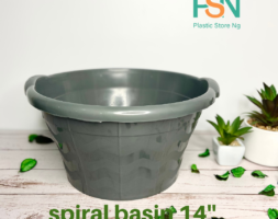 "Spiral basin 14"" (per dozen)"