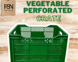 Vegetable Perforated Crate (per piece)