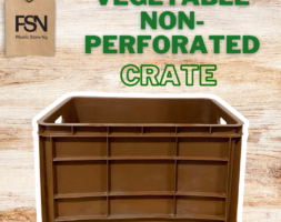 Vegetable Non-perforated Crate (per piece)